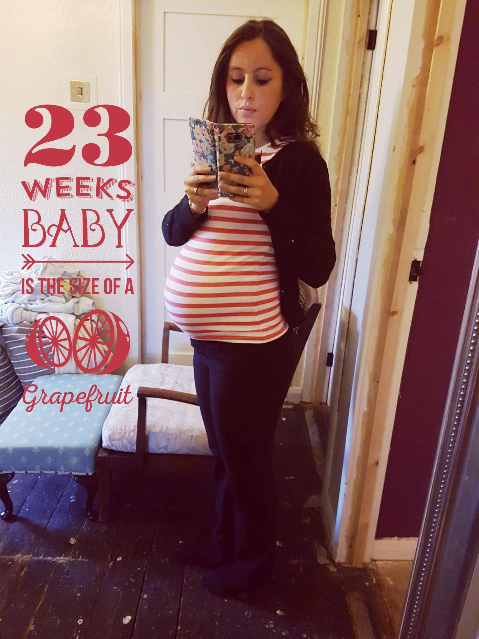 23 weeks pregnant - So they call me Jam Jar Gill...